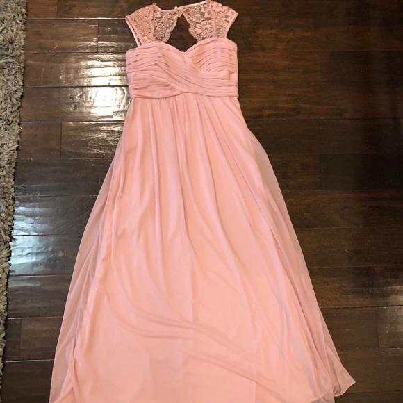 53009f7f97a Blush   Dusty Pink Bridesmaid Dress